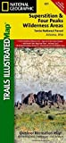 Superstition and Four Peaks Wilderness Areas [tonto National Forest] (National Geographic Trails Illustrated Map, Band 851)