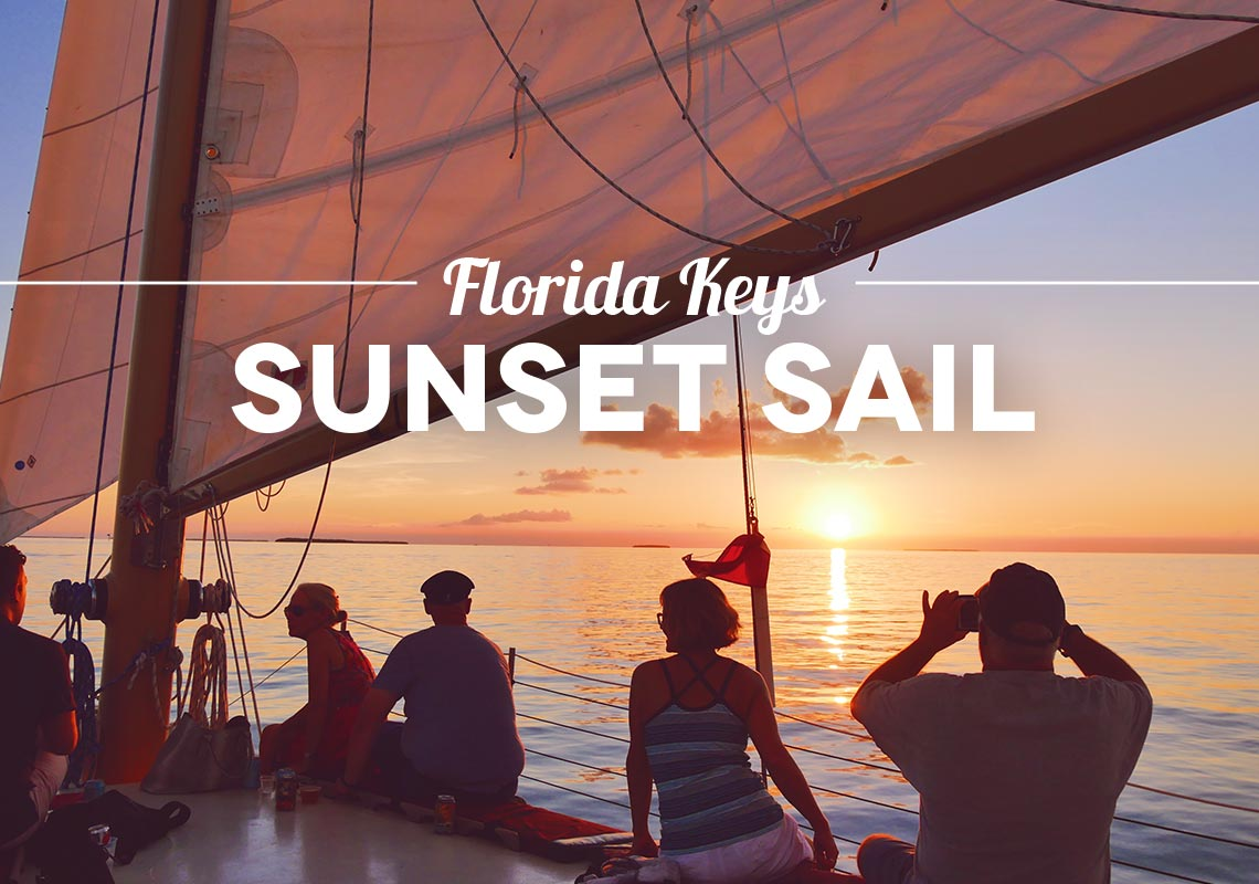 Florida Key West Sunset Sail Danger Charters