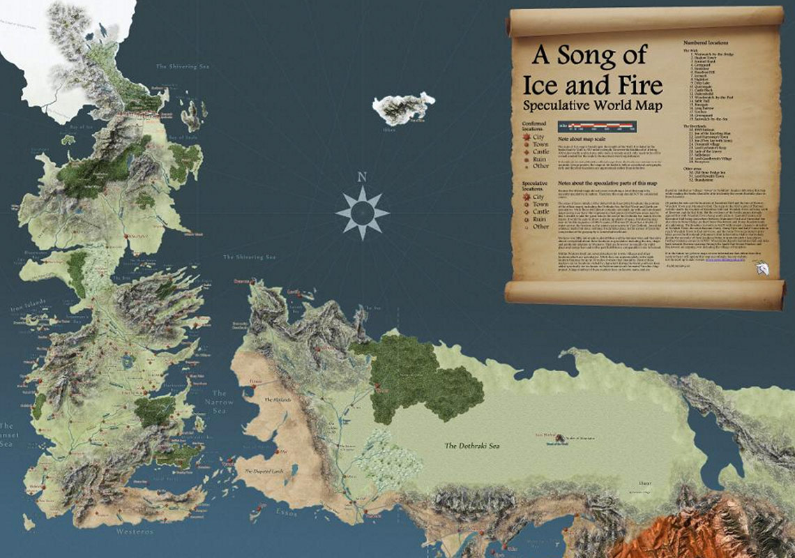 Westeros Karte Interaktiv.Interaktiv Durch Westeros Die Ultimative Game Of Thrones Karte