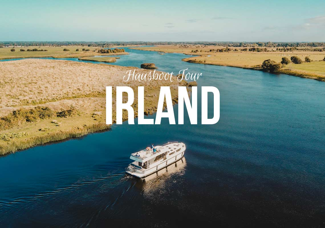 Hausboot Irland Shannon Le Boat – Von Portmuna nach Carrick-on-Shannon