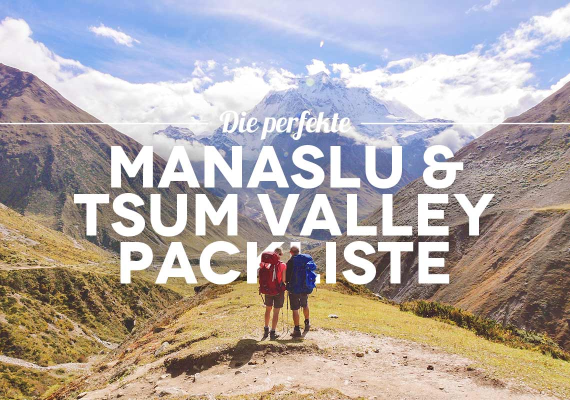 manaslu circuit packliste tsum valley